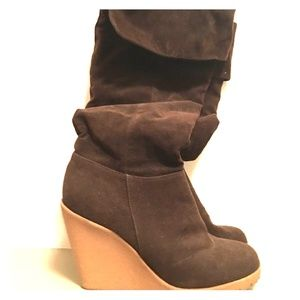 f21 Suede Knee boots (9)